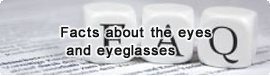 Facts about the eyes and eyeglasses
