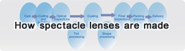 How spectacle lenses are made